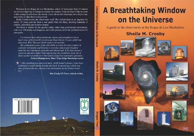 The cover of 'A Breathtaking Window on the Universe'