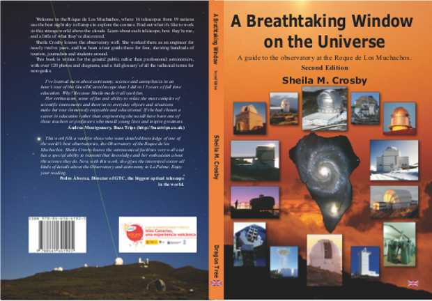 "The cover of the second editio of ""A Breathtaking Window on the Universe"""