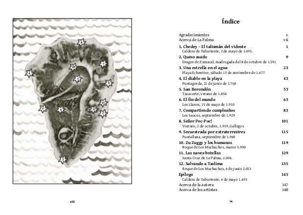 Mapa y Índice para La piedra ocular