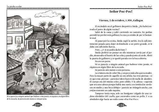 Ilustración y primera página para Sr Poc-Poc